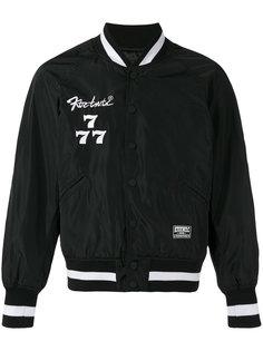 куртка бомбер Society с вышивкой KTZ