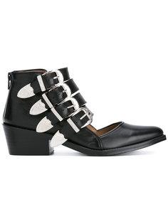 ботинки с несколькими ремешками Toga Pulla