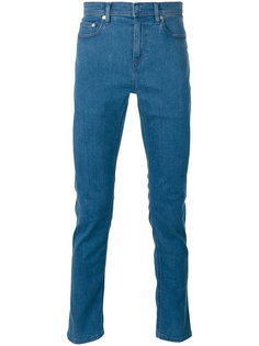 прямые джинсы Neil Barrett