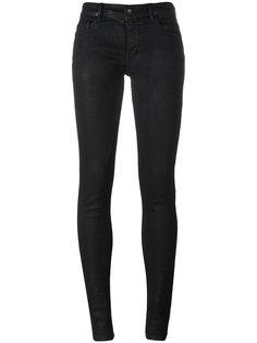 джинсы с потертостями Rick Owens DRKSHDW