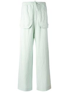 прямые брюки с карманами  Qasimi