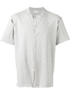 футболка на пуговицах Maison Margiela