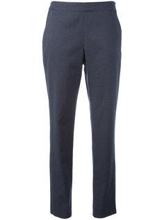 брюки с принтом в горох A.P.C.