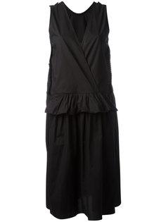 платье с V-образным вырезом  Sara Lanzi