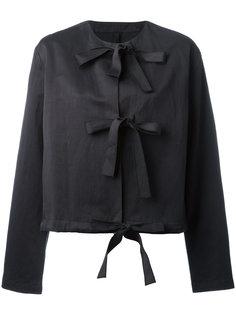 пиджак с ремешками спереди  Sara Lanzi