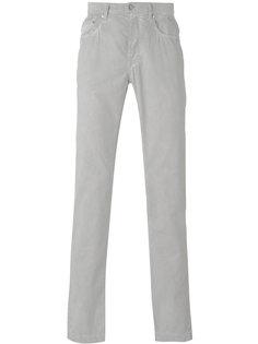 брюки кроя слим Massimo Alba