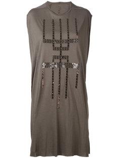 платье без рукавов с пайетками  Rick Owens Lilies