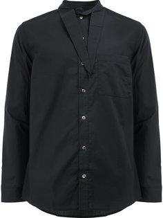 рубашка с завязками на воротнике By Walid