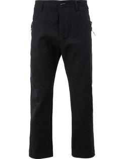 плотные укороченные джинсы  Taichi Murakami