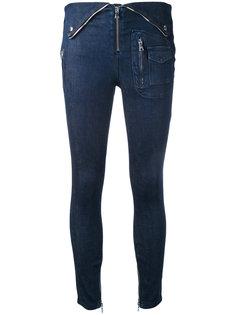 джинсы скинни с завышенной талией  Rta