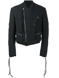 структурированная байкерская куртка Haider Ackermann