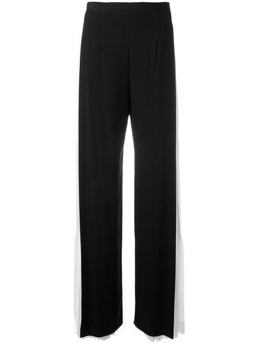 брюки с плиссированными панелями Capucci
