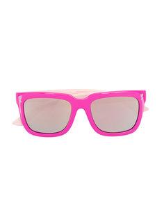 солнцезащитные очки в квадратной оправе Stella Mccartney Kids