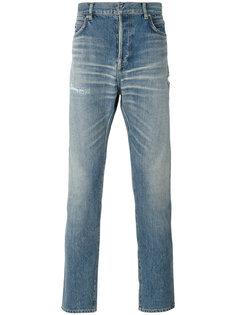 узкие джинсы Balmain