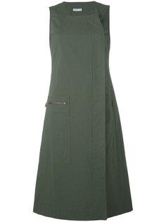платье со смещенной застежкой Tomas Maier