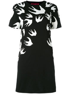 платье-футболка Swallow Signature McQ Alexander McQueen
