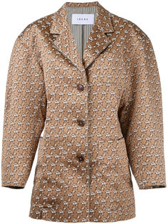 куртка с жаккардовым цветочным узором  Irene