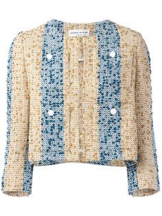 пиджак с вышитыми полосками  Sonia Rykiel