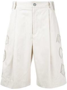 шорты с вышивкой General Idea