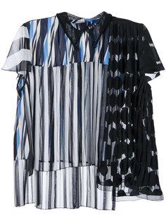 лоскутная блузка Kolor