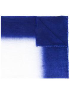 шарф с контрастной отделкой  Faliero Sarti