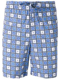 шорты на завязках с рисунком Otis Batterbee