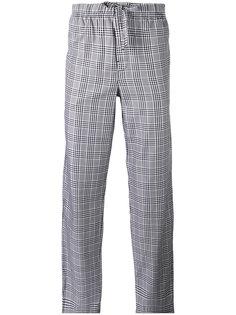 клетчатые пижамные брюки Otis Batterbee
