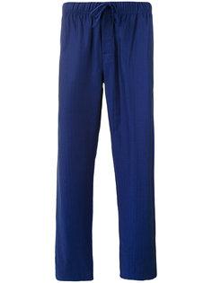 пижамные брюки с узором елочкой Otis Batterbee