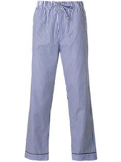 полосатые пижамные брюки Otis Batterbee