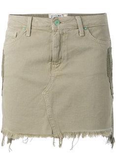 джинсовая мини-юбка  Sandrine Rose