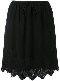 юбка с вышивкой  Iro