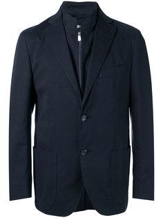 пиджак с накладными карманами Corneliani
