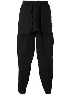 ярусные брюки  Julius