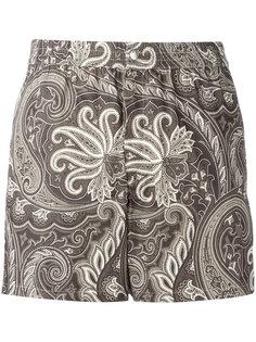 пляжные шорты с принтом  Brioni