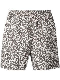 пляжные шорты с принтом  Loro Piana