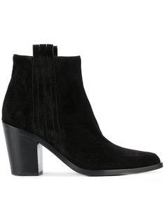 сапоги по щиколотку на невысоких каблуках Sartore