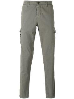брюки с карманами Eleventy