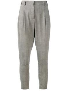 зауженные брюки Eleventy