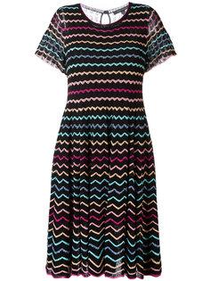 платье с узором зигзаг Marc Jacobs