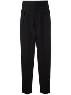 зауженные брюки с расклешенным низом Saint Laurent