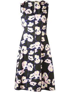 платье в цветочный принт Marni
