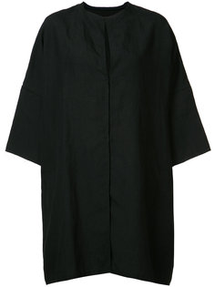объемная куртка с потайной застежкой Yohji Yamamoto