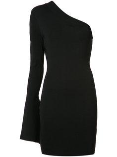 приталенное платье с одним рукавом Solace London
