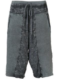 спортивные шорты с потертой отделкой Lost & Found Ria Dunn