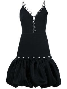 платье с пышной юбкой David Koma