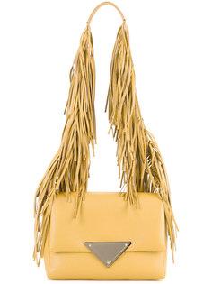 сумка на плечо с бахромой на лямке Sara Battaglia