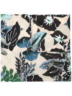 шарф с цветочным принтом Christian Pellizzari