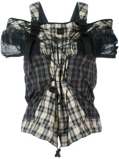 блузка с затяжкой спереди Maison Margiela