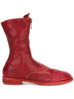 высокие ботинки на молнии Guidi