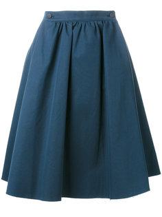 юбка со складками и завышенной талией  Société Anonyme